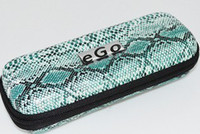 Leather Leopard,snakeskin etc Small,Medium,Large E cig carry case leopard snakeskin styler ego case most portable electronic cigarette battery clearomizer carry case S M L XL size ego cases