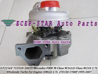 Wholesale GT2256V S Turbo Turbocharger Mercedes PKW M Class ML270 W163 E Class E270 CDI W210 OM612 L HP