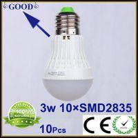 Wholesale B22 E27 LED Globe Bulb Lights w SMD2835 High Power LED Globe Bulbs Lamp Bulbs Warm Pure Cool White Energy saving Light Sale