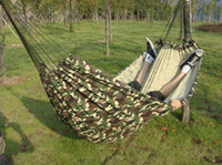 Canvas 200*150 cm Camouflage Cheap Camouflage Outdoor Swing Couch two person Camping Hammock 200*150cm