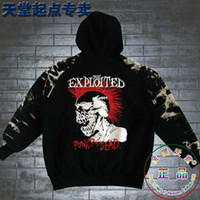 tie dye hoodies - 2014 hot sale Rock Men outerwear sweatshirt zipper hoody tie dyeing Camouflage metal punk Hoodies