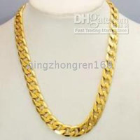 14k gold chains - THICK HEAVY MENS CHAIN K YELLOW GOLD NECKLACE JEWELRY