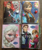 Wholesale Frozen Book Notebook with a Pen Student Diary Book Frozen Elsa Anna Olaf Sven Frozen Anna Book Student Notepad CM
