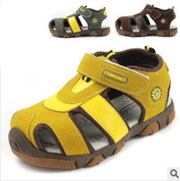 Wholesale Hot Children Sandals Kid s sandals boy and girl beach shoes Child Summer shoes Leather sandals New Fashion