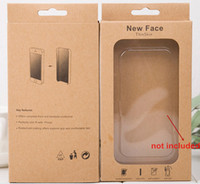 apple paper crafts - Craft paper Packaging phone Box for Iphone s s Samsung s5 s4 i9500 i9300 i9308 n7100 xiaomi high quality Cell Phone case cover