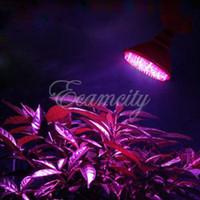 Wholesale 4Pcs E27110V LED Red Blue W Flower Plant Grow Light Bulb Garden Hydroponic System Lamp