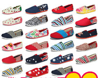 Wholesale 24 Styles Slip on Women s Shoes Cheap Flat Steel Shoes Canvas Shoes White Sneakers Slippers H001