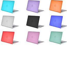 Wholesale Cubierta recubierta dura mate de la caja del satén de Shell elegante ultrafino para Macbook Air Macbook favorable exhibición de la retina color de la mezcla del caso