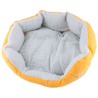 Wholesale Gift Cute Warm Soft Comfortable Pet Dog Cat Bed Style Sleep Accessories W Mat