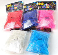 Link, Chain Mexican Children's 2014 new rainbow loom bands rubber bands glow in dark 500sets free shipping