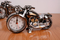 Wholesale Style Motorbike Alarm Clock Grey Novelty Gift Alarm Clock Bike