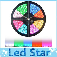 SMD 5050 adhesive led light strip - 500m RGB Led Strips SMD M Leds Waterproof IP65 Led Flexible Strips Light DC V With M adhesive tape