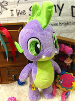 Green build a bear - 2014 Build A Bear cm Original My Little Pony Spike The Dragon Plush Toy
