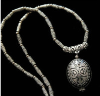 Wholesale BEAUTIFUL JEWELRY TIBET SILVER AMULET PENDANT NECKLACE