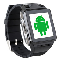 Wholesale 2014 The new high definition camera smart watch phone IK8 slim touchscreen Android smart watch phone