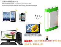 Wholesale Multifunctional gift with wireless wifi router wireless Bluetooth portable mobile power