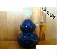 Wholesale glassware Glass water pipes Hookah filtering pot of glass crafts