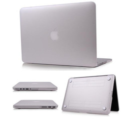 Wholesale Ultrathin Smart Satin transparent Clear Matte Hard Rubberized Case Cover For Macbook Air quot quot Macbook Pro Retina Display quot quot case