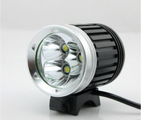 al por mayor new led lamp-NUEVO 3800LM 3xCREE XML XM-L T6 LED bicicleta bicicleta cabeza lámpara 1x8.4v batería 1PCS libre envío de cardmate