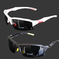 Sports half frame glasses - S5Q New Professional Polarized Cycling Glasses Casual Sports Goggles Sunglasses AAABZS
