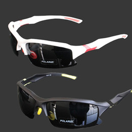 Wholesale S5Q New Professional Polarized Cycling Glasses Casual Sports Goggles Sunglasses AAABZS