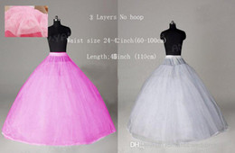 Wholesale Low price New wedding fashion Petticoats Hot sale off Style White A Line Fishtail Hooples Crinoline Petticoat Underskirt