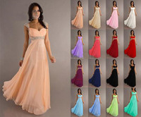 Sweetheart low price dresses - Low Price In Stock A Line Chiffon Evening Dress Formal Gown Off Shoulder Beaded Sequins Sashes Pleat Floor Length Bandage Lace Up Back Sexy