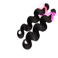 Wholesale 5A Unprocessed Brazilian Virgin Hair Extension Natural Color inch Human Hair Body Wave Human Hair Weave