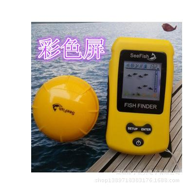 2017 factory outlet muddy wireless color fish finder sonar fish, Fish Finder