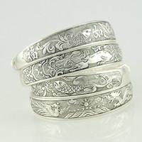 Wholesale Factory Mixed Design Tibetan Silver Bangles Tibetan Silver Bracelets Minimum order USD10