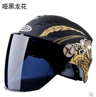 Wholesale Motorcycle Helmet Electric Sun Shading Bicycle Helmet Male Women s Uv Motocross Agv Helmet Capacete Shoei Vespa Dirt Bike