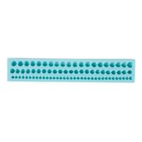 Wholesale Three Row mm Beads Silicone Mould Cake Decor Mold Sugarcraft Fondant Tool