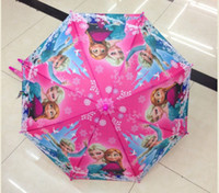 Wholesale Frozen Umbrella Frozen Princess Elsa amp Anna Children Umbrella cm Frozen Series NEW Arrival