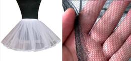Wholesale 2 Layer Short Ballet Skirt Crinoline Petticoats White Black Underskirt Slips Hoop Little Petticoat Cheap But High Quality