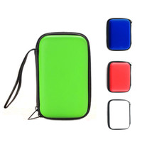 Wholesale Portable quot Hard Drive Zipper Inch HDD Shockproof Protect Case Data Cable Pouch Earphone Bag PU Cover