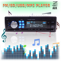 Other 6 cm Car Stereo Audio In-Dash Receiver New Hot Sale Audio MP3 CD Car Player In Dash USB SD AUX Input Receiver Stereo Audio 02 #54448