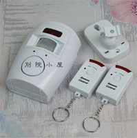 Wholesale Home Security Alarm Systems With Dual Infrared Sensor Alarm and Wireless Remote Control Anti theft Alarm