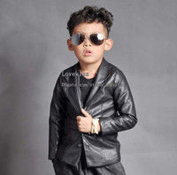 Cheap Kids Leather Jackets Boys Coat Children Clothing Boys Clothes Fashion Casual Jackets Children Outwear Kids