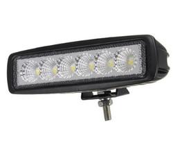 6'' 18W LED Work Light White Light Mini LED Bar 18W Car LED DRL LED Daytime Running Light 18W 12V 24V ATV Offroad Light