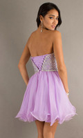 semi formal dress - Green Lilac Short Homecoming Dresses New Girl Semi Formal Dresses