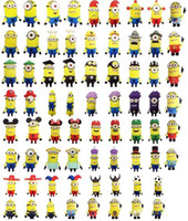 Wholesale 70 Models Pendrive Real GB GB GB GB Despicable Me Minions USB Flash Drive Memory Stick Thumb Drive Pen Memory