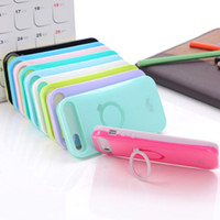 Wholesale i Glow iglow Hybrid Luminous Noctilucent Ring Stand holder Phone Case Cover Cases For iPhone S S C S3 S4 S5 MINI Note pc DHL