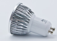 Wholesale DHL free hot PAR20 E27 E26 GU10 Led COB Bulbs Light W Warm Pure Cool White Dimmable Led Spotlights Angle V CE ROHS CSA UL