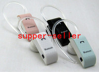 For Apple iPhone   Fashion mini single headphone wireless handsfree stereo Bluetooth Headset Universal Ear hook Earphone For Apple iPhone 5 SamSung HTC Nokia