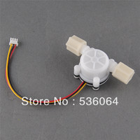 Wholesale New Water Flow Sensor Switch Meter Counter Hall Sensor Flowmeter L min