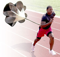 Wholesale New Running Power Chute Speed Training Resistance Exercise Parachute black