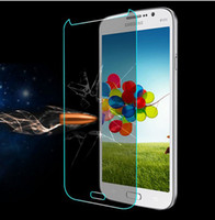 Wholesale Luxury Box Gorilla Tempered Glass LCD Screen Film PROTECTOR Screen Guard With Retail Box FOR Samsung Galaxy S3 S4 S5 I9600 Note Note