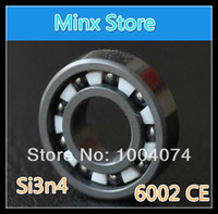 Wholesale 2pcs x32x9mm full Si3N4 ceramic all ceramic ball bearing of Silicon Nitride material