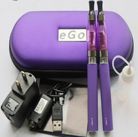 Cheap Double Ego double kit Best Electronic Cigarette Set Series Ego ce4 dual kit