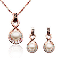 Wholesale Italina Austrian Crystal jewelry set for women with Swarovski elementS